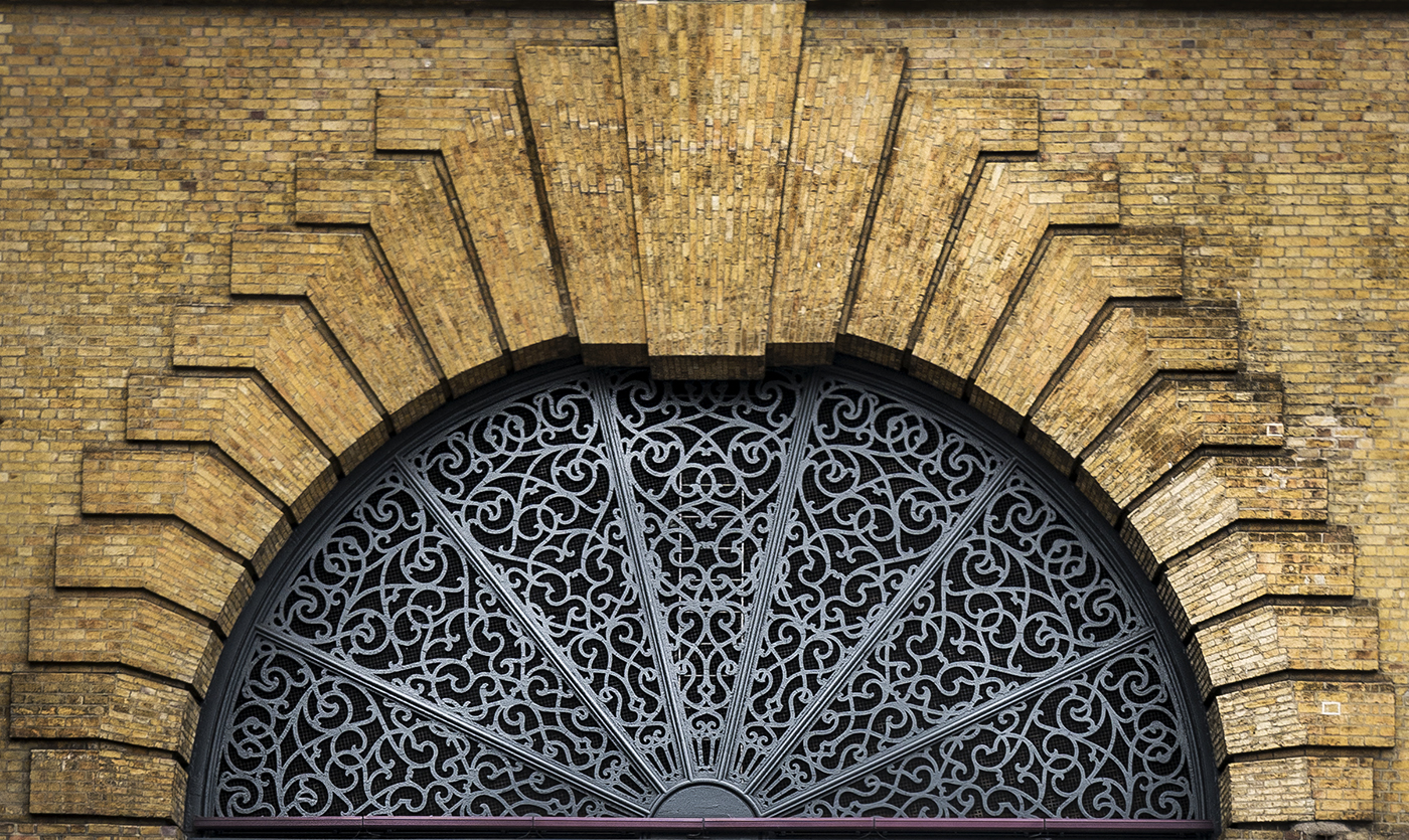 Ornate Arch, Kings Cross Station
