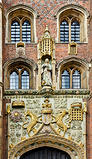 Detail: Gatehouse, St John's College, Cambridge