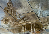 St Paul's Reflection by Steve Swiszczowski